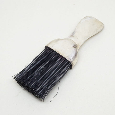 Sterling Shoe Horn and Brush