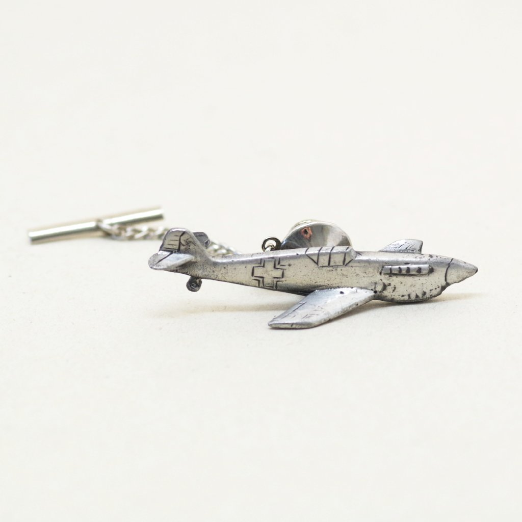 Fighter Plane Tie Tack