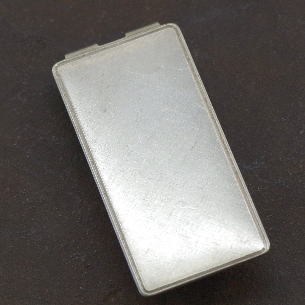 Sterling Silver Plain Face Money Clip