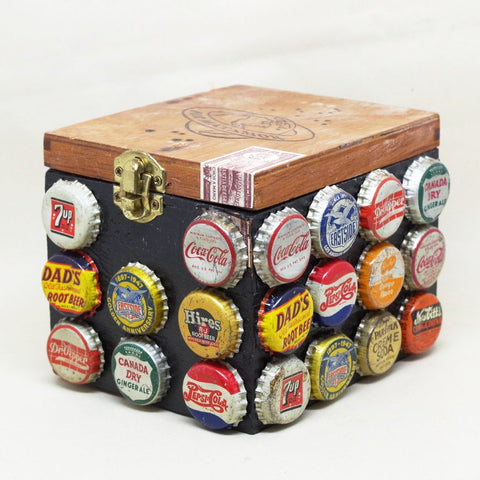 Bottlecap Cigar Box
