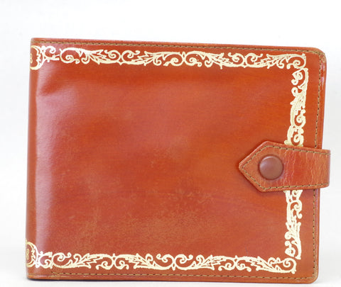 Vintage Brown Leather Wallet