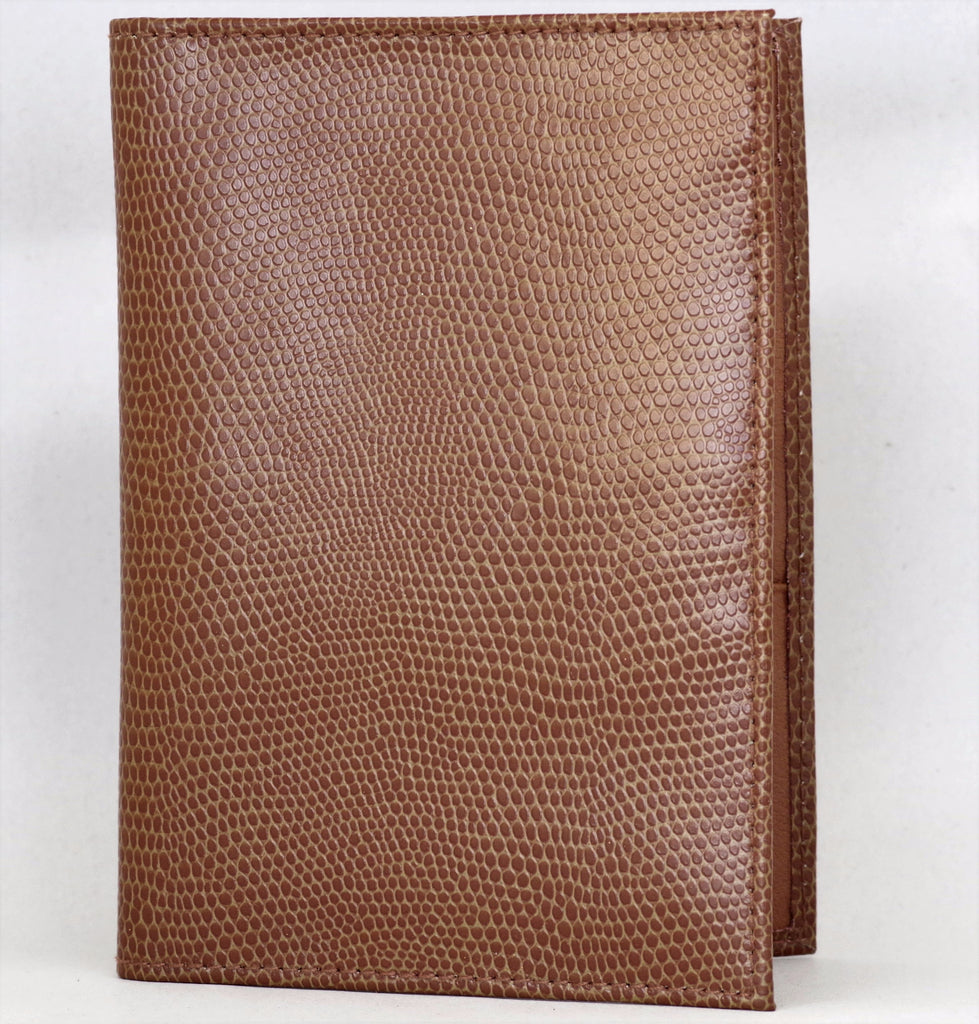 Light Brown Snakeskin Wallet