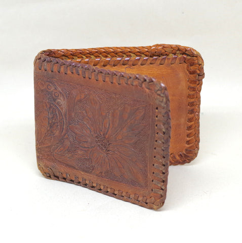 "Tooled Floral ""L"" Bifold"