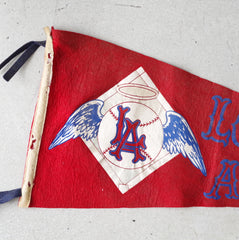 1960s Los Angeles Angels Pennant