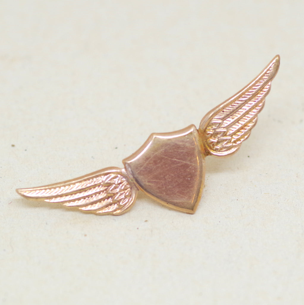 Winged Shield Pin