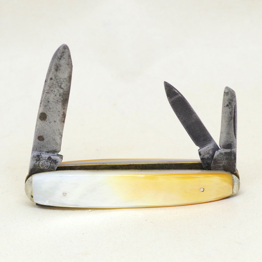 Thick Mother of Pearl Pocket Knife