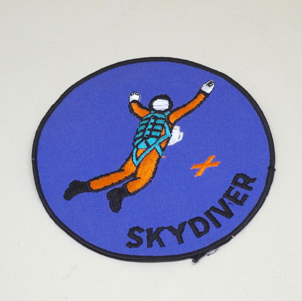 "Huge ""Skydiver"" Patch"