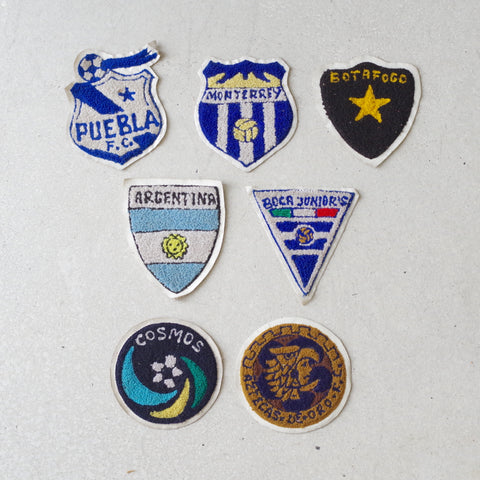 Vintage Soccer Patches