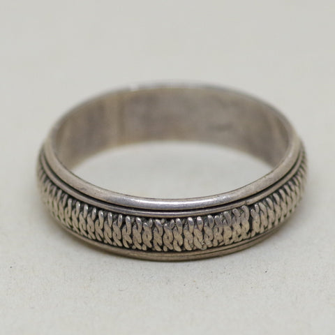 Big Linked Sterling Ring