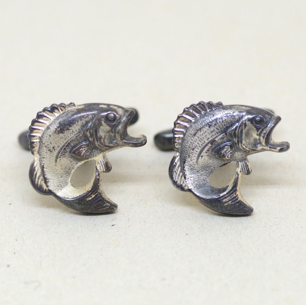 Wide Mouth Fish Cufflinks