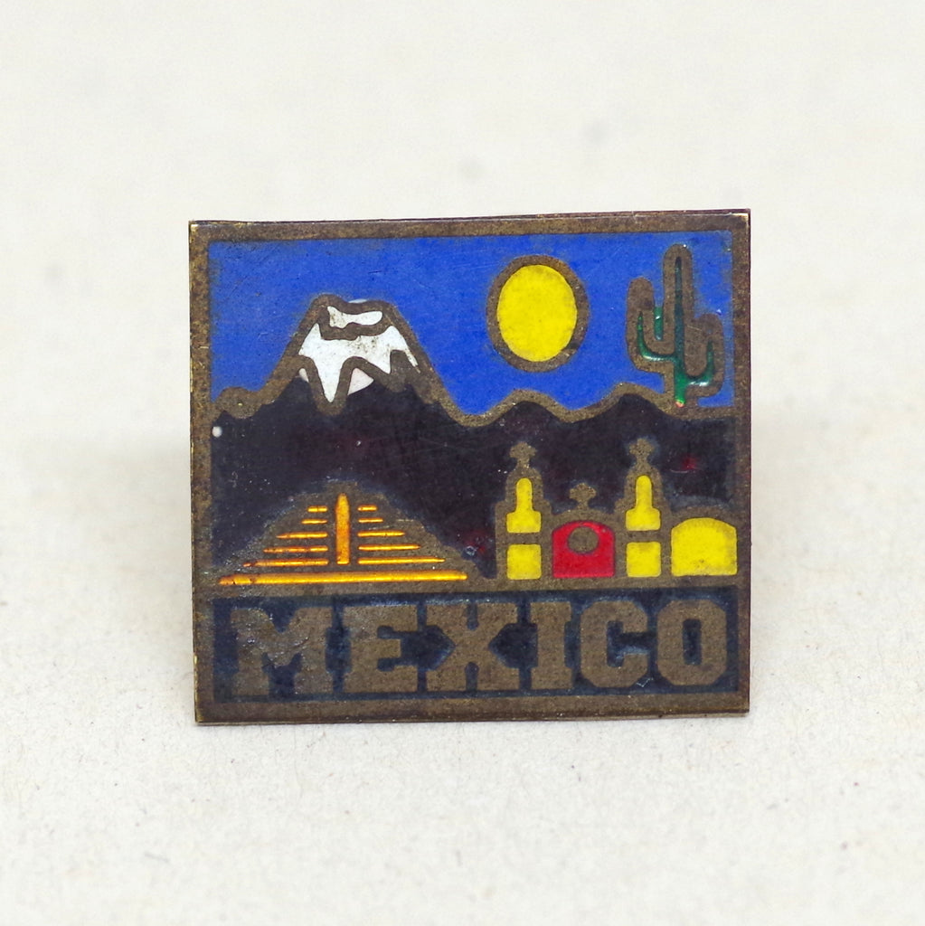 Colorful Mexico Pin