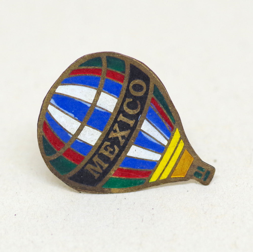 Mexico Hot Air Balloon Pin