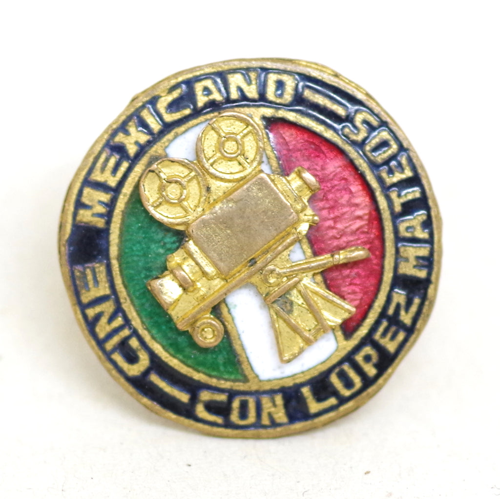 Cine Mexico Stud Pin