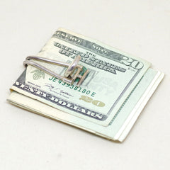 Sterling Hinged Money Clip