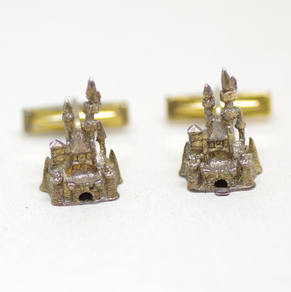 Disneyland Castle Cufflinks