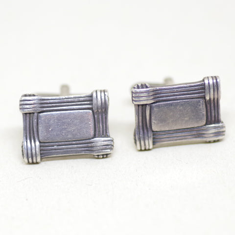 Sterling Box Cufflinks