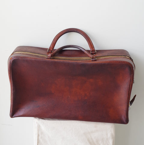 Vintage Leather Asprey Bag