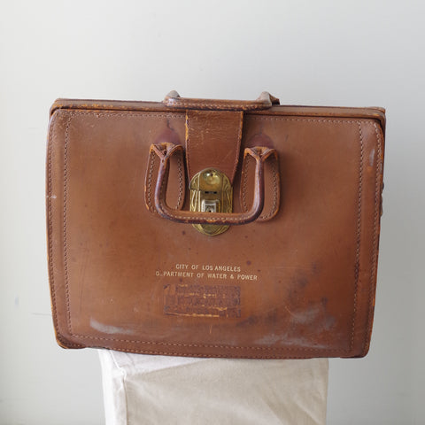 Vintage Los Angeles DWP Tool Bag