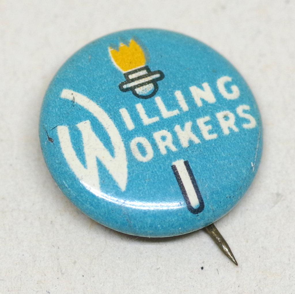 Willing Workers Pin