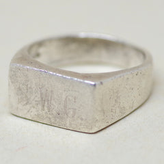 "Sterling ""SWG"" Ring"