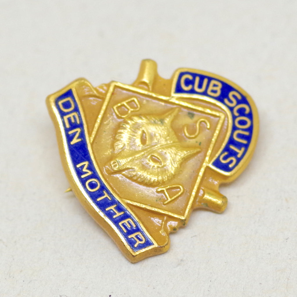 Cub Scouts Den Mother Pin