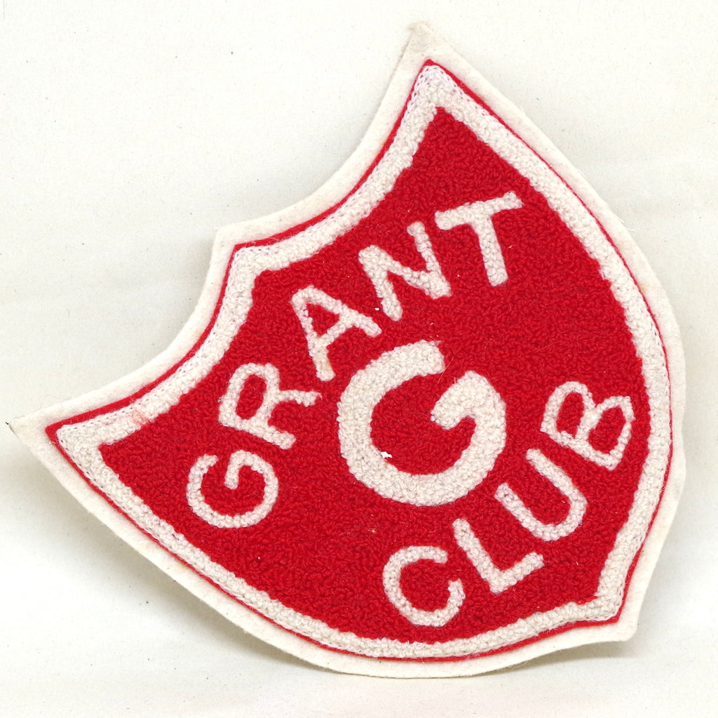 Red Grant Club Crest Patch
