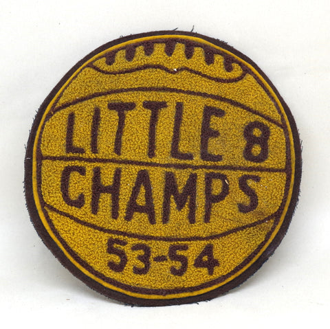 1950s Little 8 Champs Basketball Patch