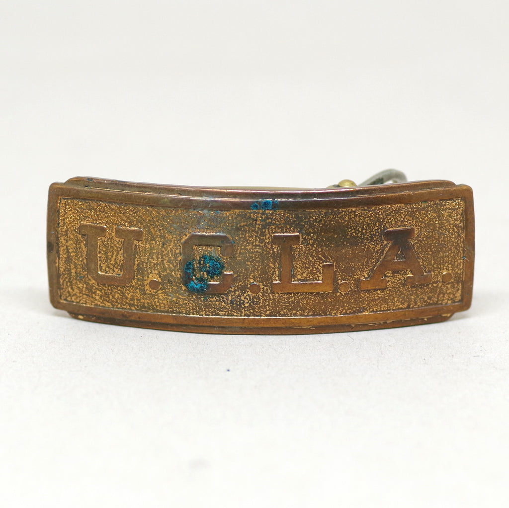 Early 20th Century UCLA Sliding Belt Buckle