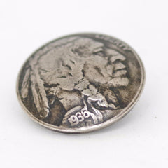 Unique Vintage Buffalo Nickel Jacket Buttons