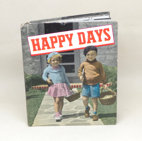 "Vintage ""Happy Days"" Book"