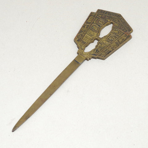 1933 Chicago World's Fair Letter Opener