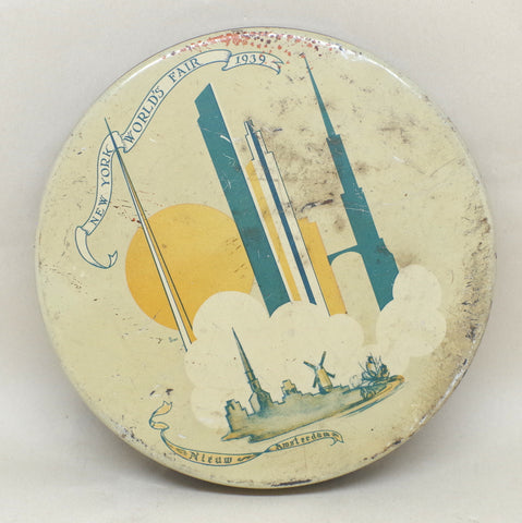 1939 New York World's Fair Commemorative Tin