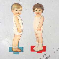 1920s Adorable Child Standees