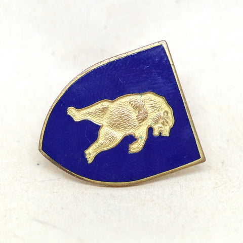 Grizzly Bear Screw Back Pin