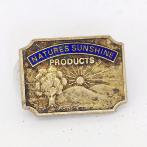 "Vintage ""Nature's Sunshine Products"" Lapel Pin"