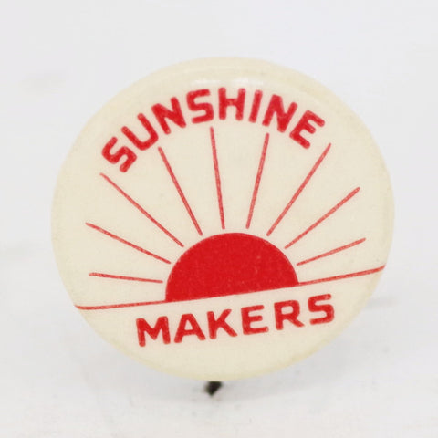 "1940s ""Sunshine Makers"" Pin"