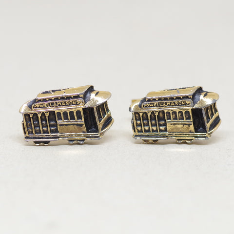 San Franciso Cable Car Cufflinks