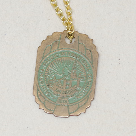 California Pacific International Exposition Charm