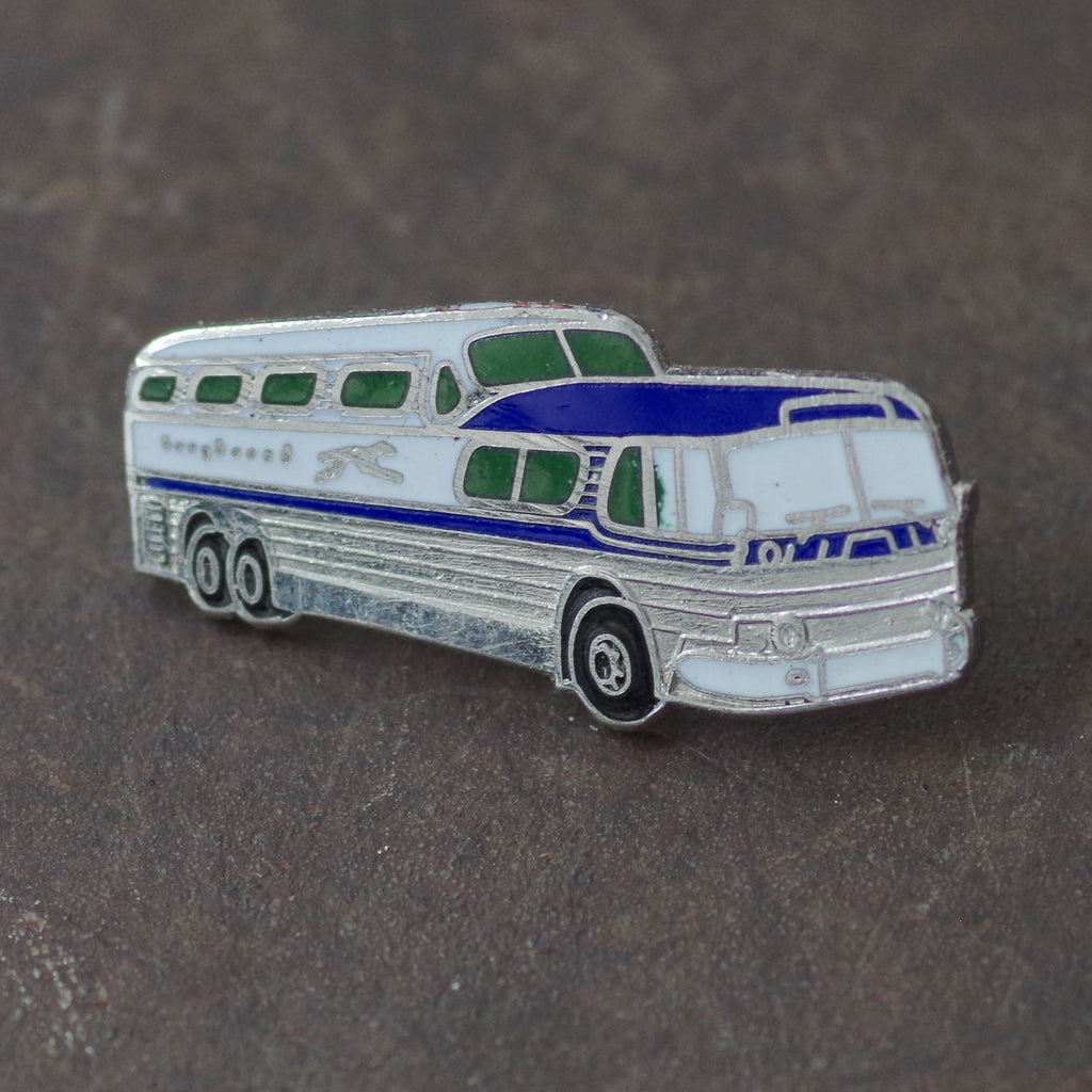 Greyhound Bus Pin