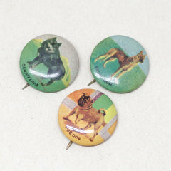 1920s Dog Breed Pins