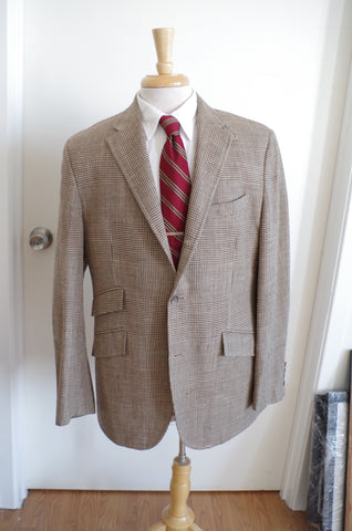 Polo Ralph Lauren Glen Plaid Chinstrap Sport Coat - 42R
