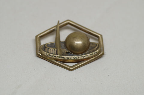 1939 World's Fair Locket Pin