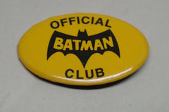 "1966 ""Official Batman Club"" Pin"