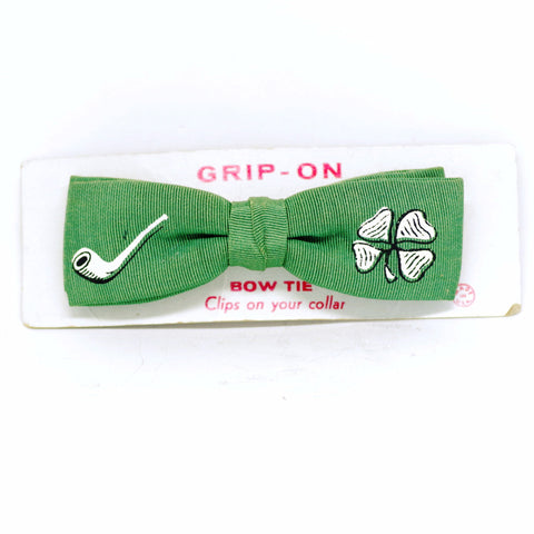 Lucky Irish Clip-On Bow Tie