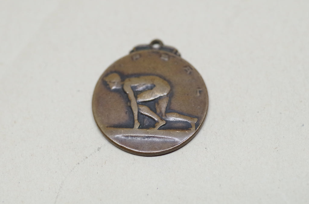 1930s Track and Field Charm