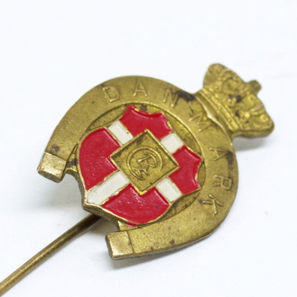 Vintage Danish Seal Stick Pin
