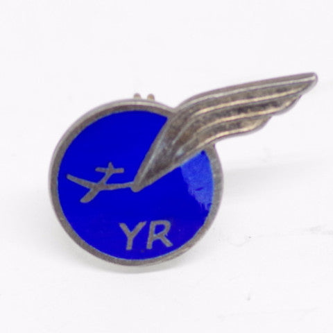Blue Romanian Aviation Pin