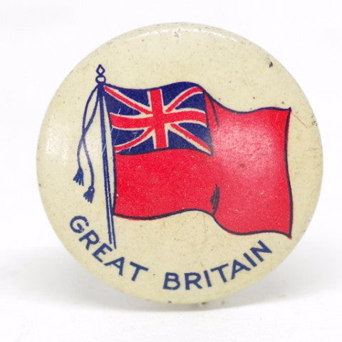 Great Britain Ensign Flag Pin