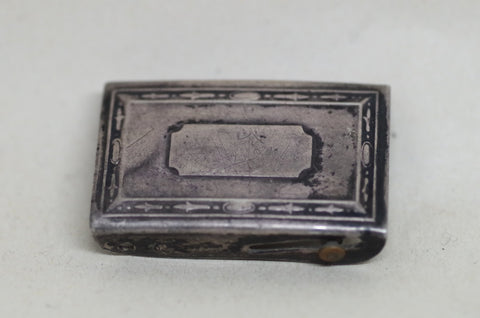 Antique Rectangle Belt Buckle