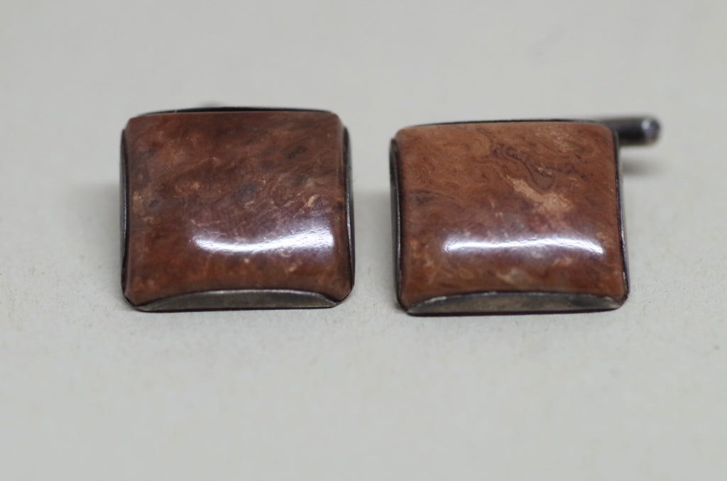 Square Enamel Cufflinks